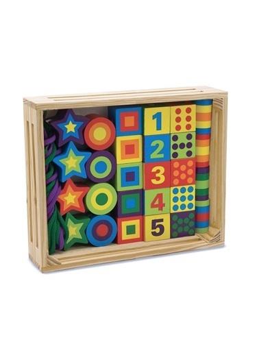 Melissa&Doug Eğitsel Ahşap Oyuncaklar Renkli